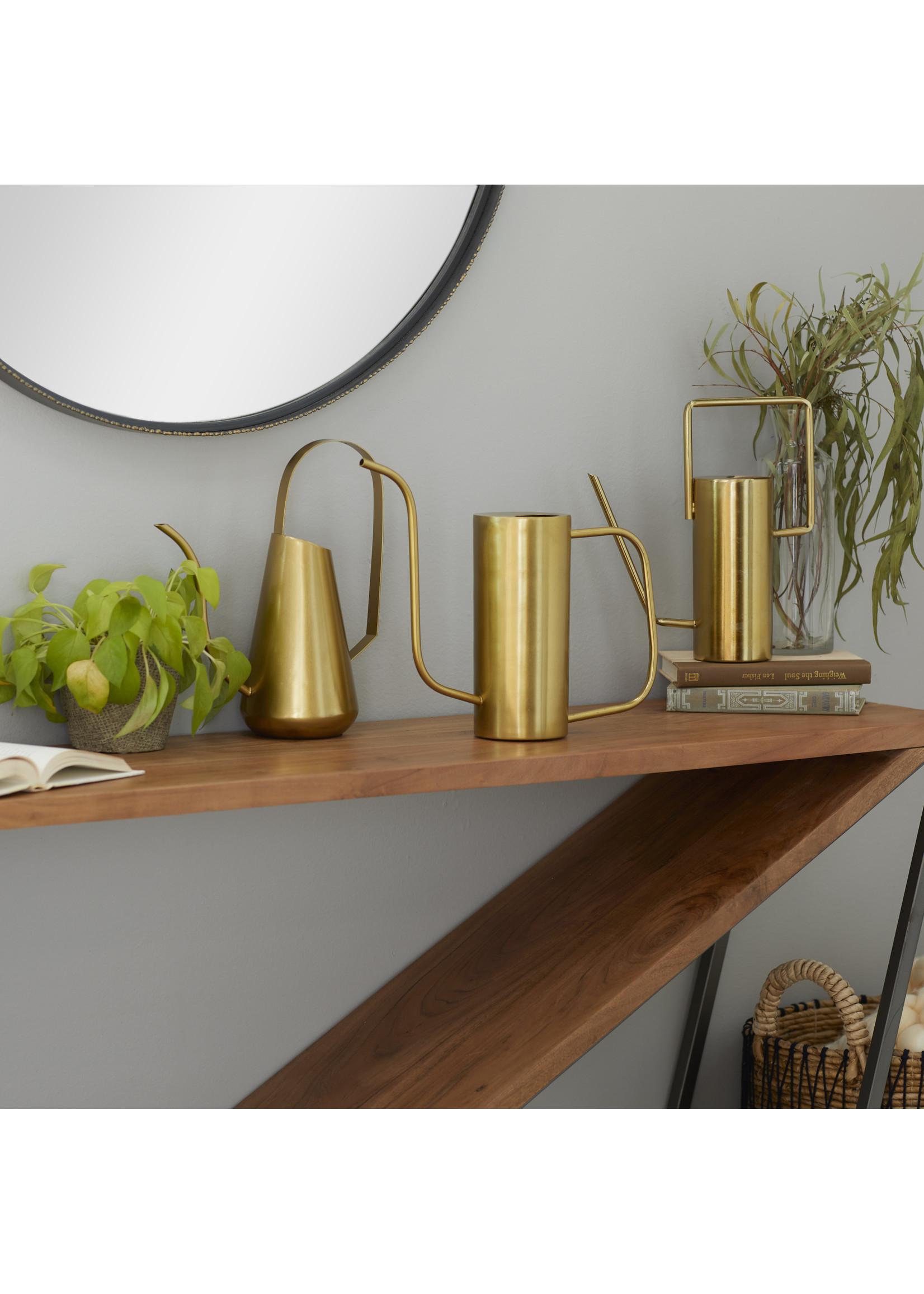 UMA Enterprises Metal Gold Watering Can Style 2