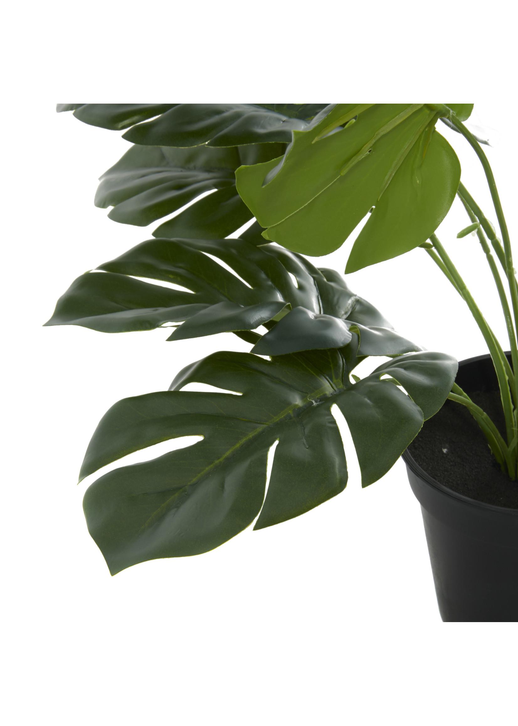 UMA Enterprises Artifical Foliage - Monstera Leaf