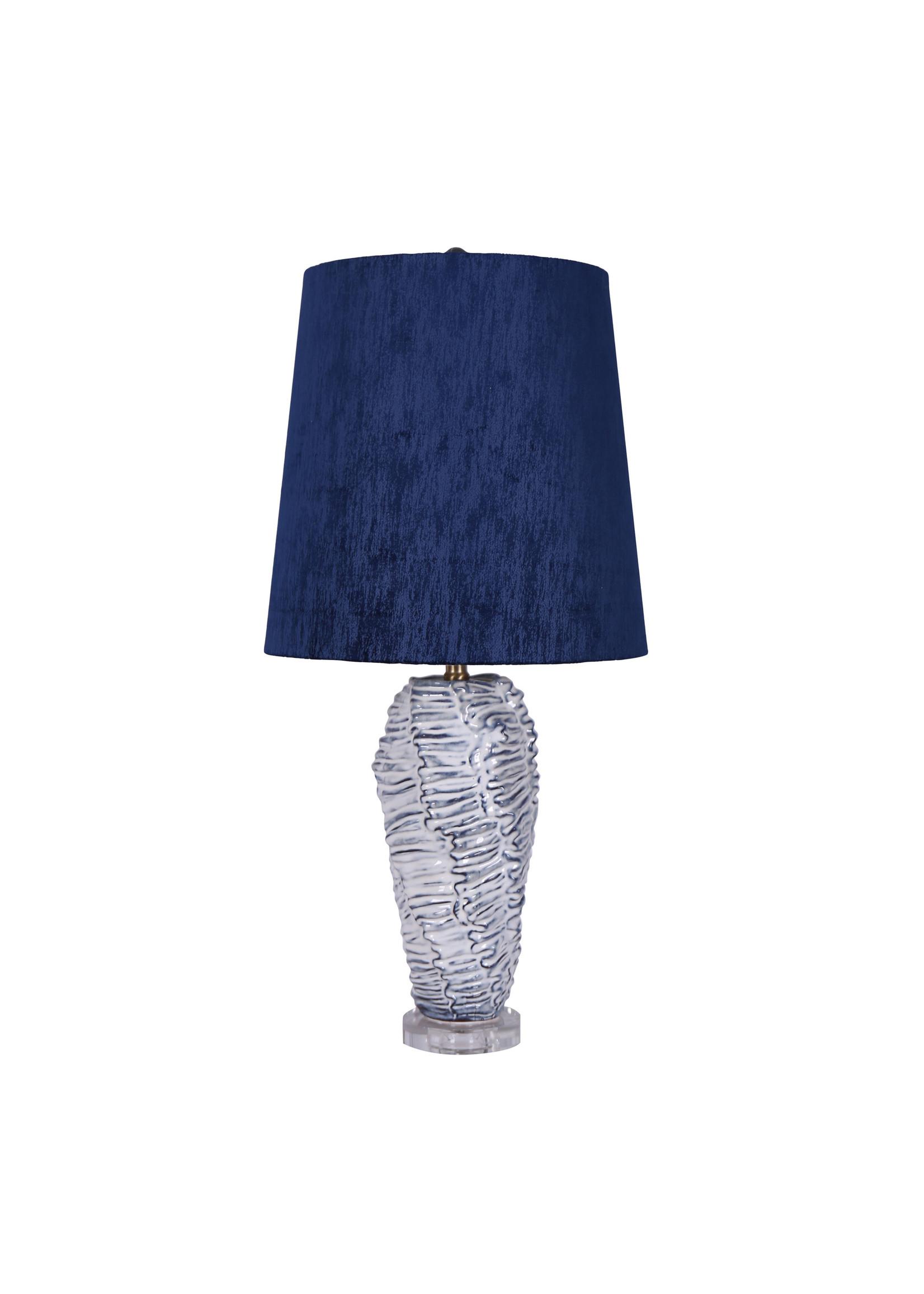 "Sagebrook Home SBH 32.5"" Ceramic Table Lamp White Wash"