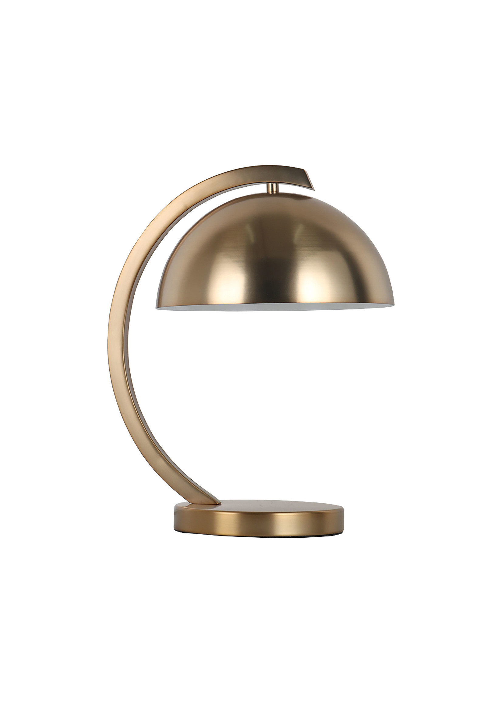 "Sagebrook Home SBH 15.25"" Metal Dome Shade Table Lamp Gold"