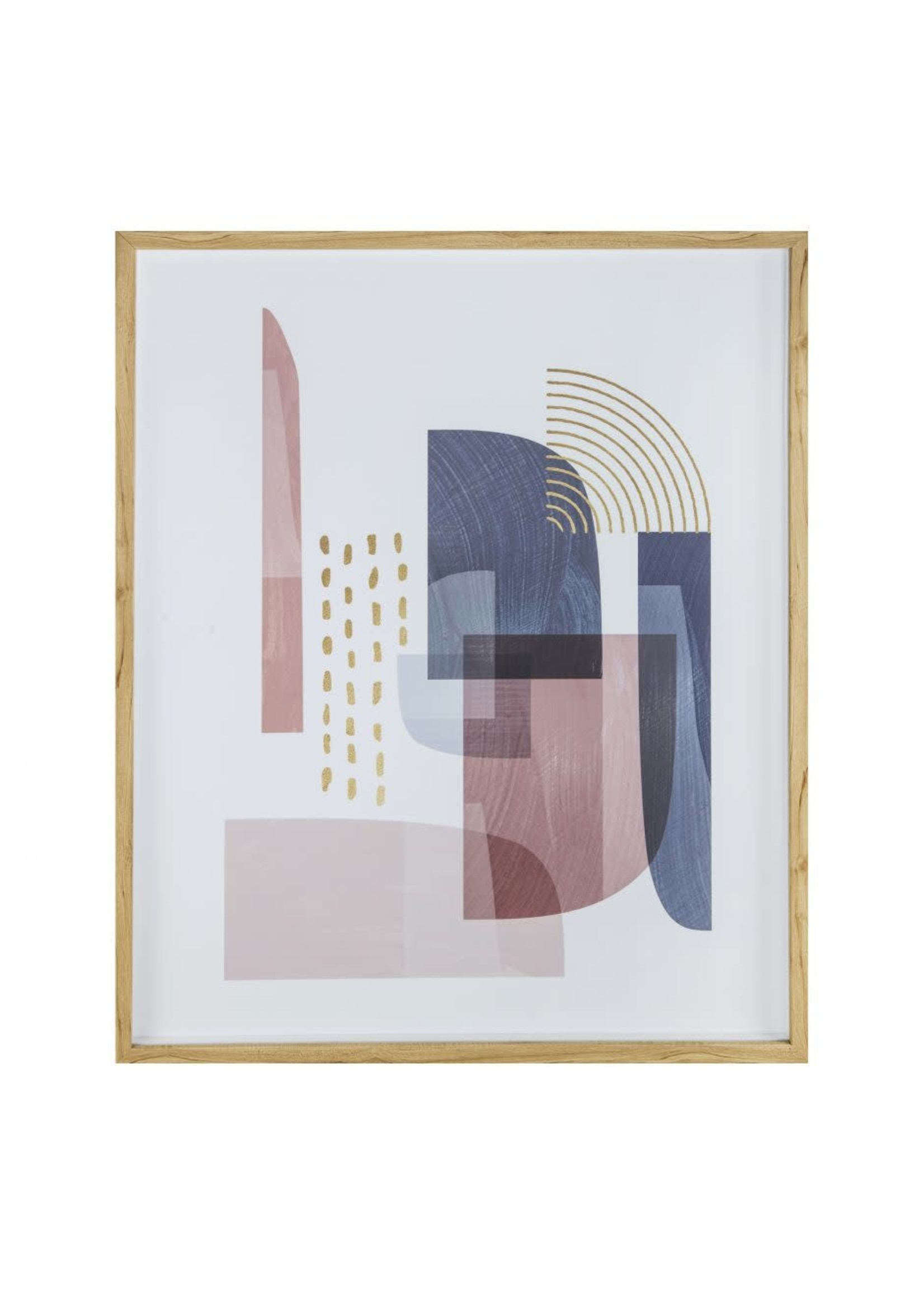 Moes Home Collection Spirited Abstract Print by MOES