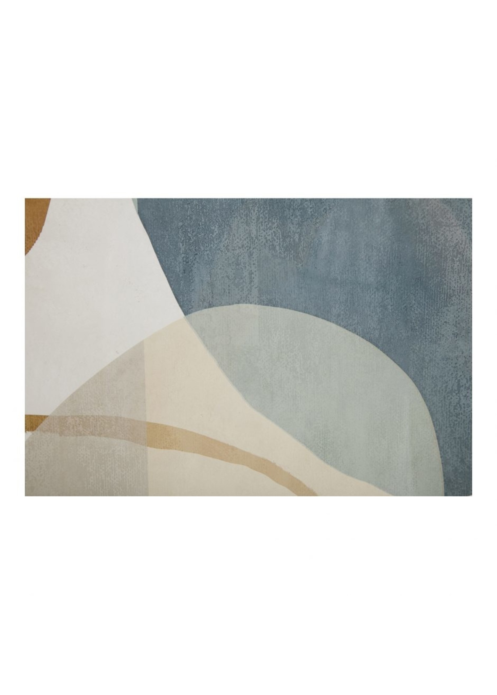 Moes Home Collection Calmness Abstract Print by MOES