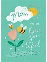 Design Design Mom You Are Bee-youtiful Card - Mothers Day