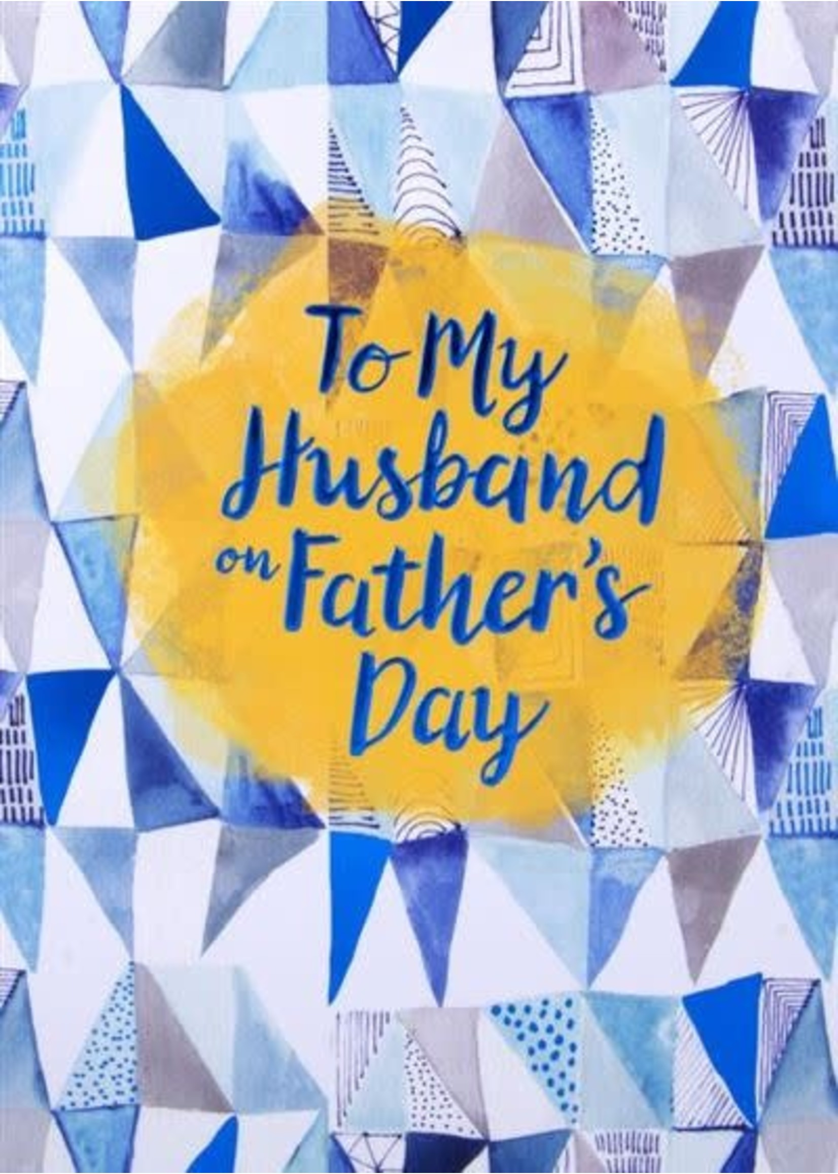 Design Design Husband Triangles Card - Fathers Day