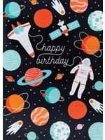Design Design Outer Space Adventure Card - Birthday