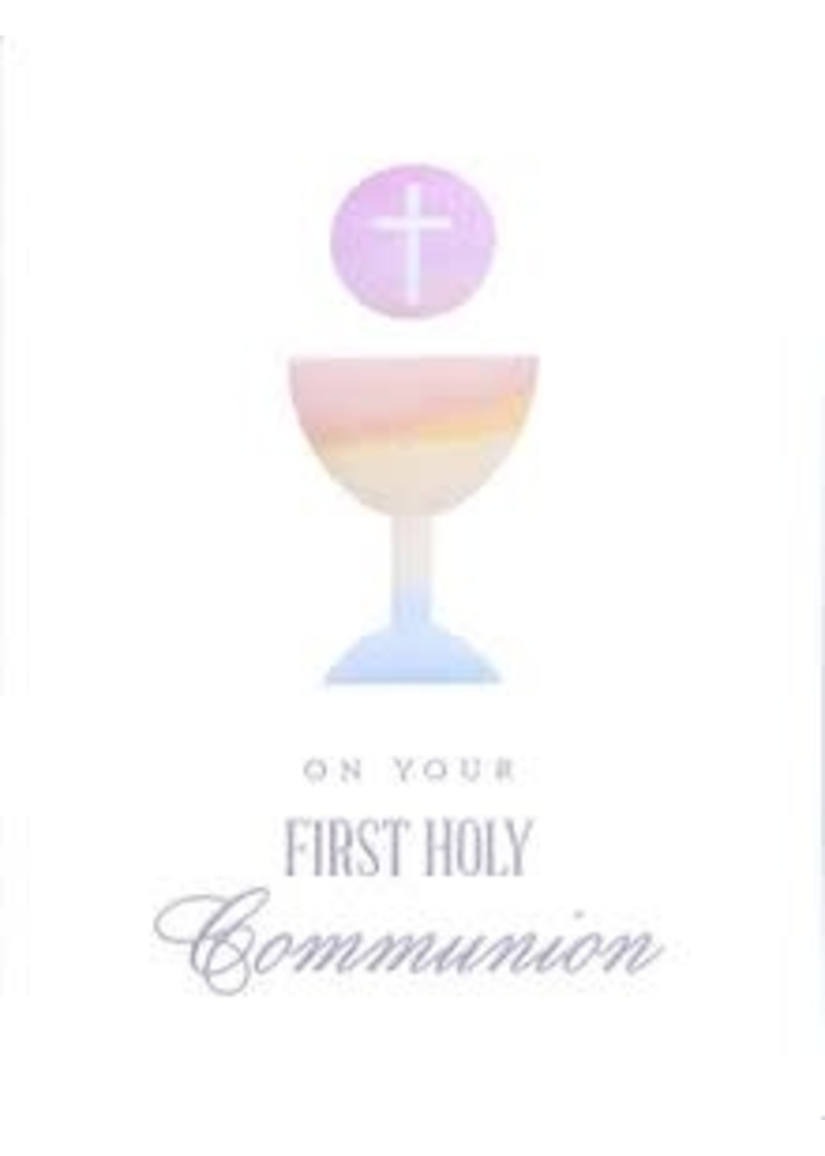 Design Design Communion Chalice And Wafer Card