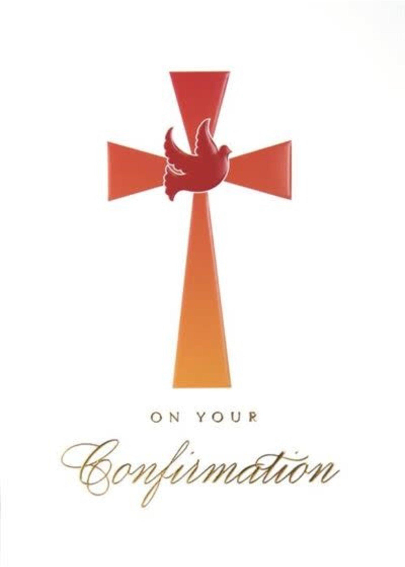 Design Design Confirmation Cross Card
