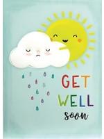 Design Design Sun Hugging Cloud Card - Get Well