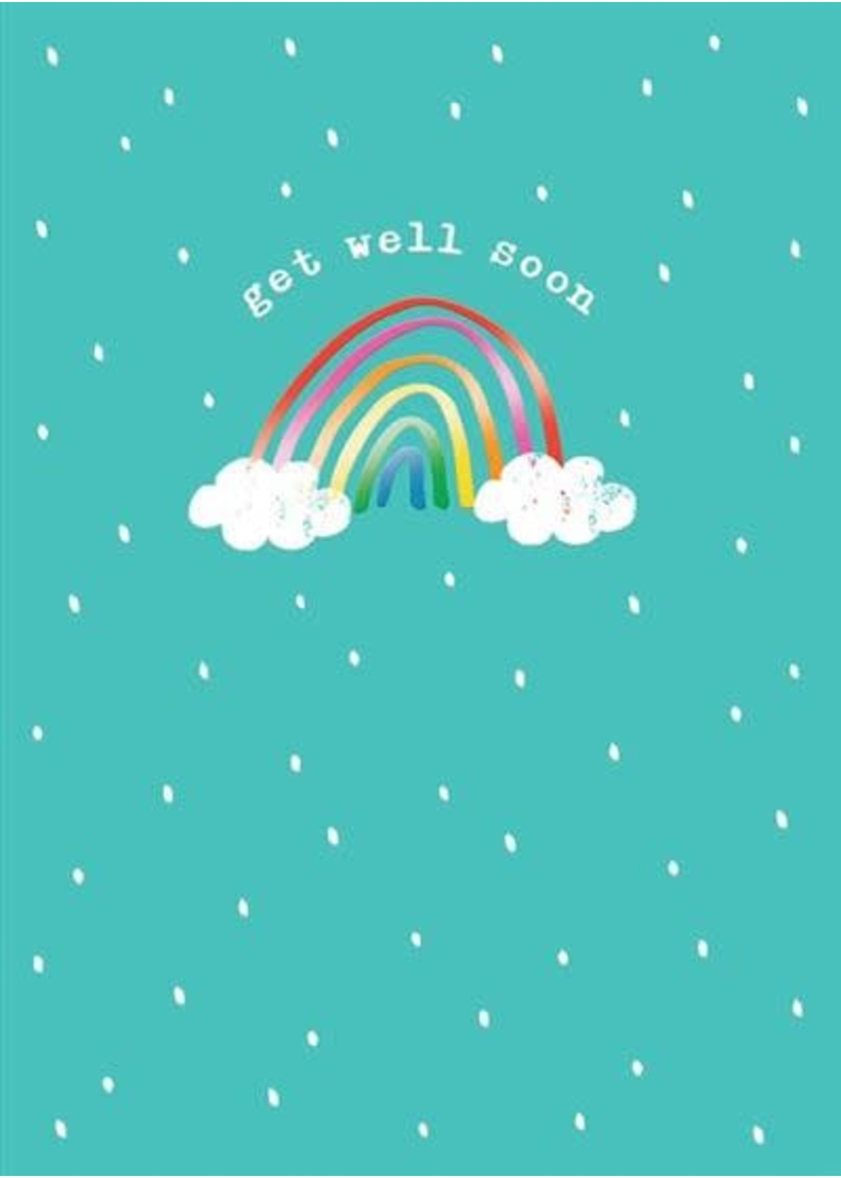 Design Design Get Well Rainbow Card