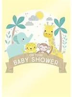 Design Design Baby Shower Animals Card