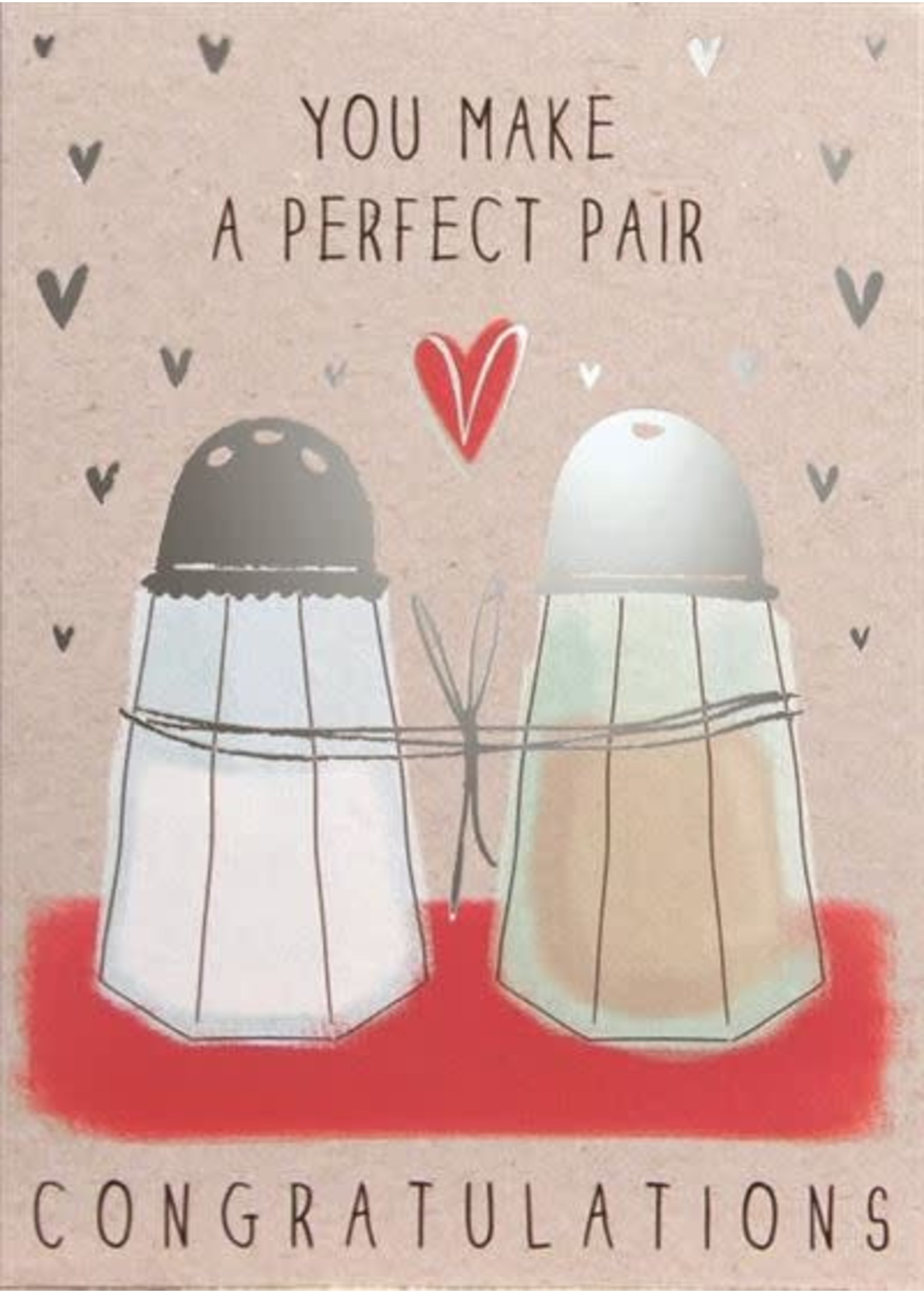 Design Design Salt And Pepper Anniversary Card