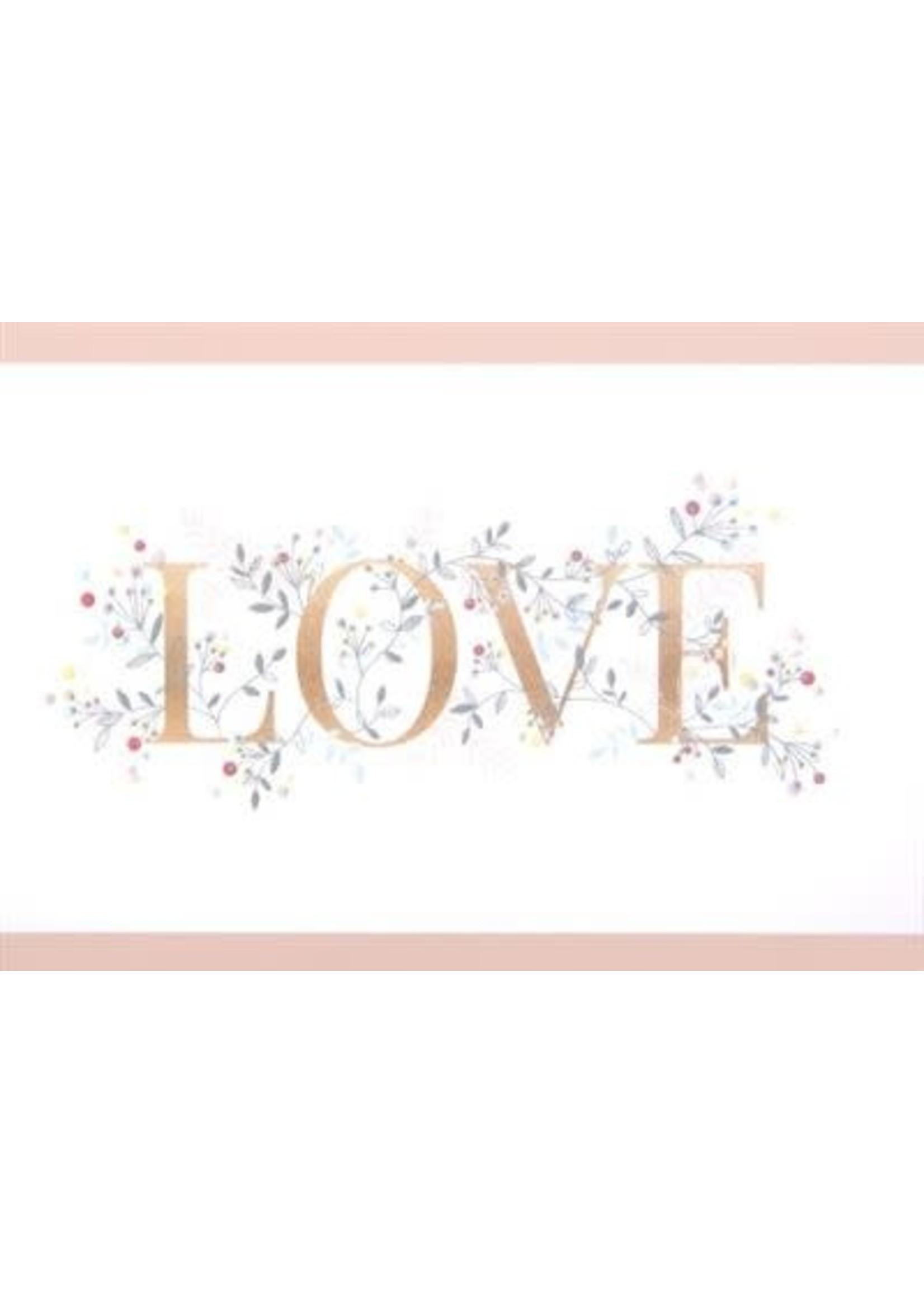 Design Design Love Filigree Card - Anniversary