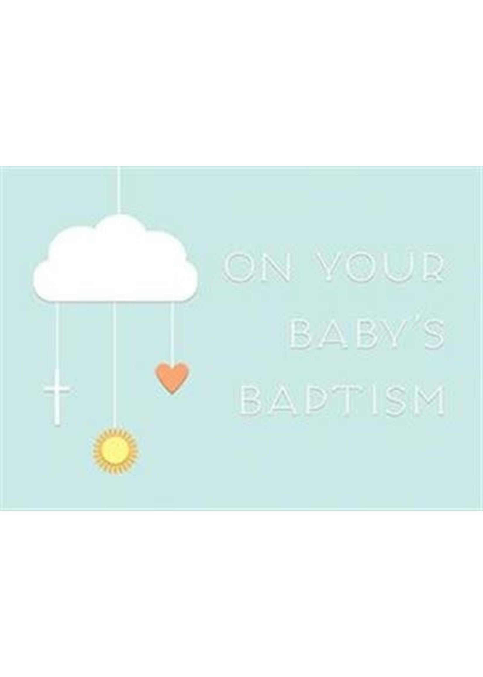 Design Design Baby Baptism Mobile Card