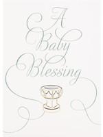 Design Design A Baby Blessing Card - Baptism