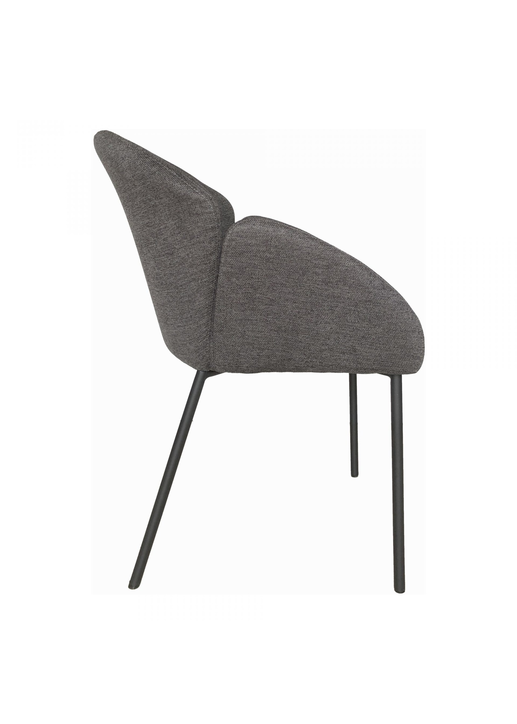 Moes Home Collection Gigi Dining Chair Dark Grey by MOES