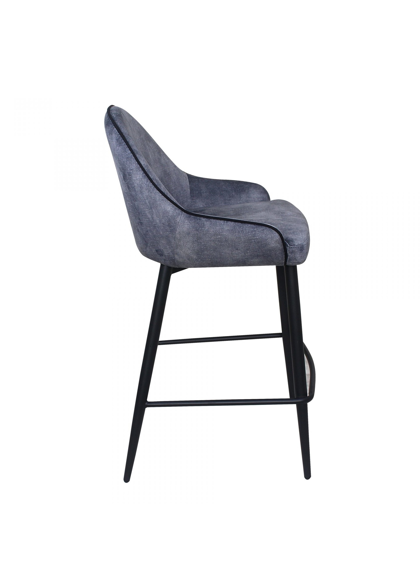Moes Home Collection Astbury Counter Stool Grey by MOES