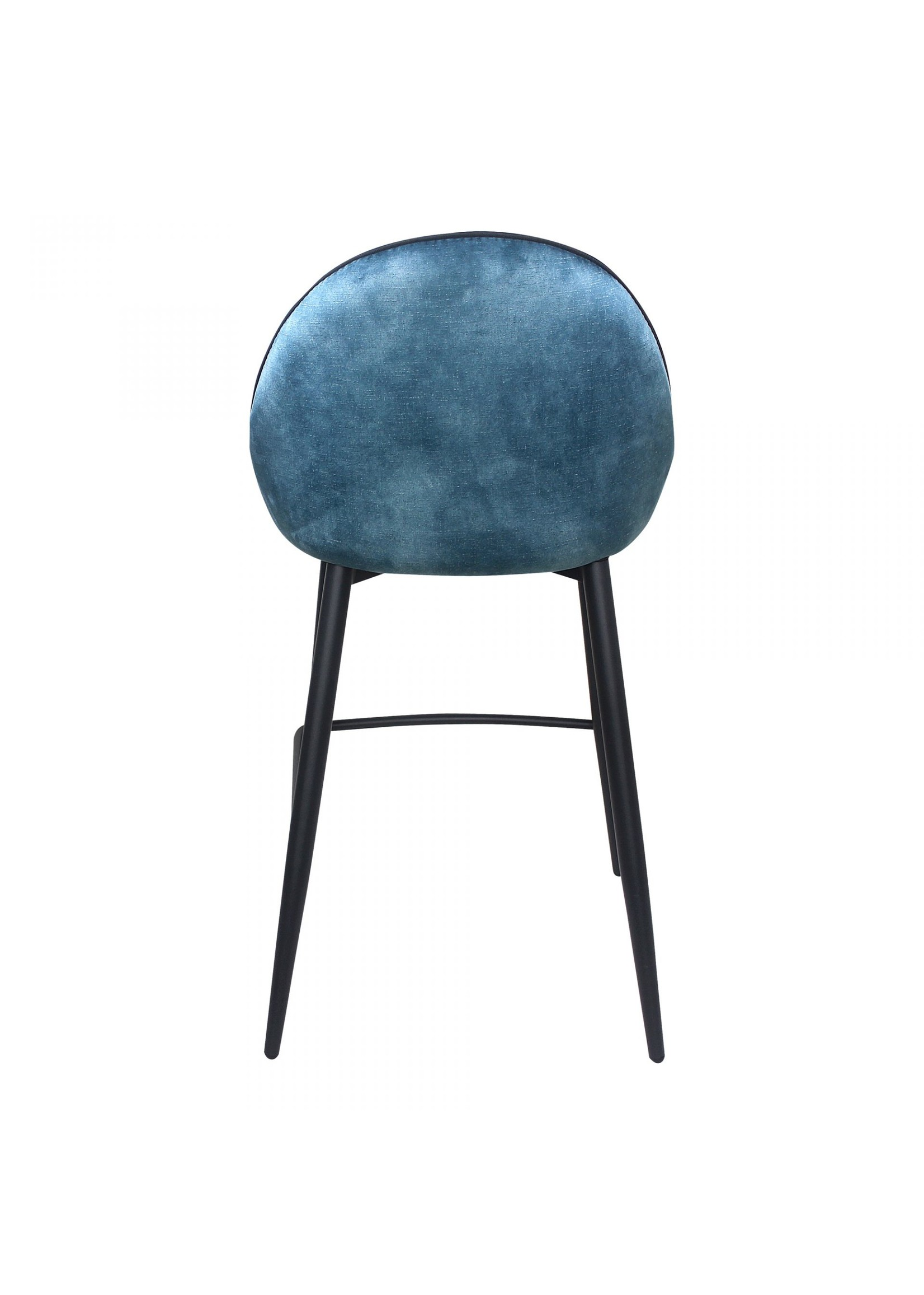 Moes Home Collection Astbury Counter Stool Blue by MOES