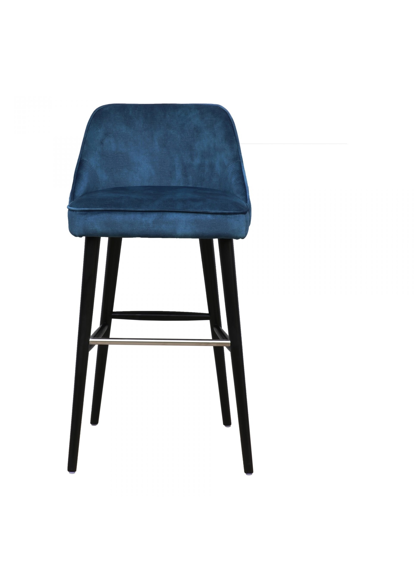 Moes Home Collection Harmony Barstool Navy Blue by MOES