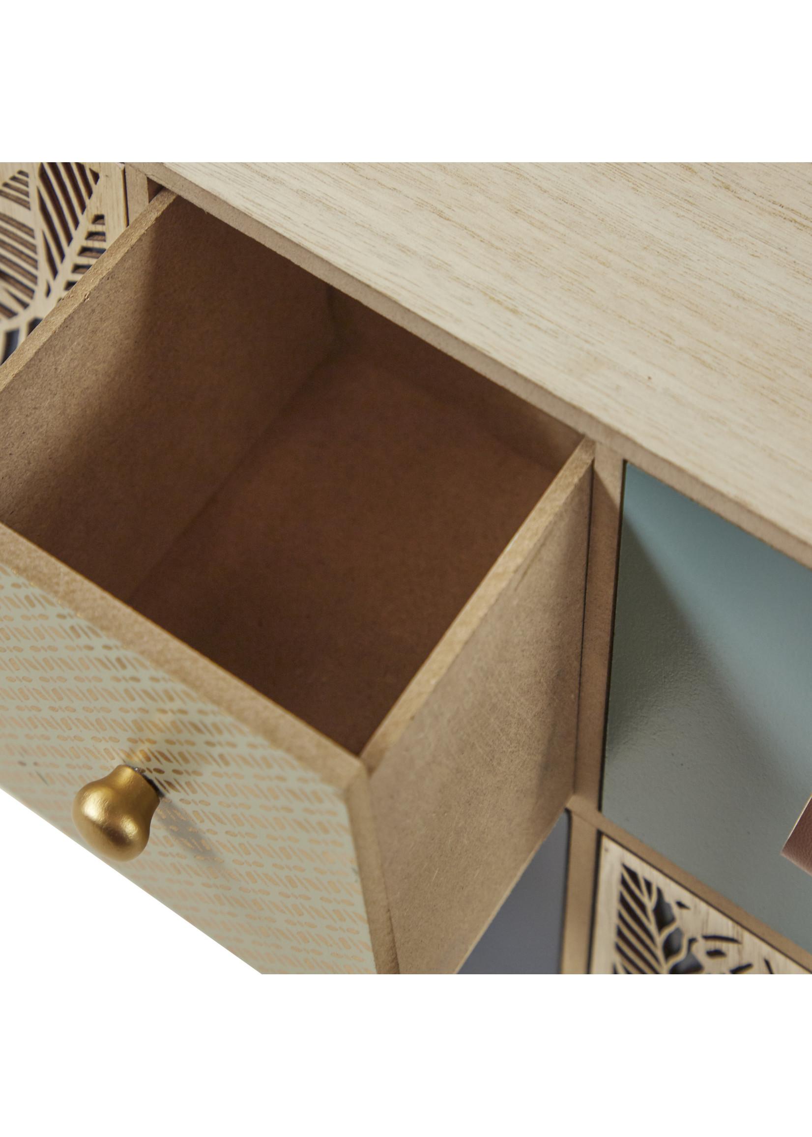 UMA Enterprises Jewellery Box  Teal & Black