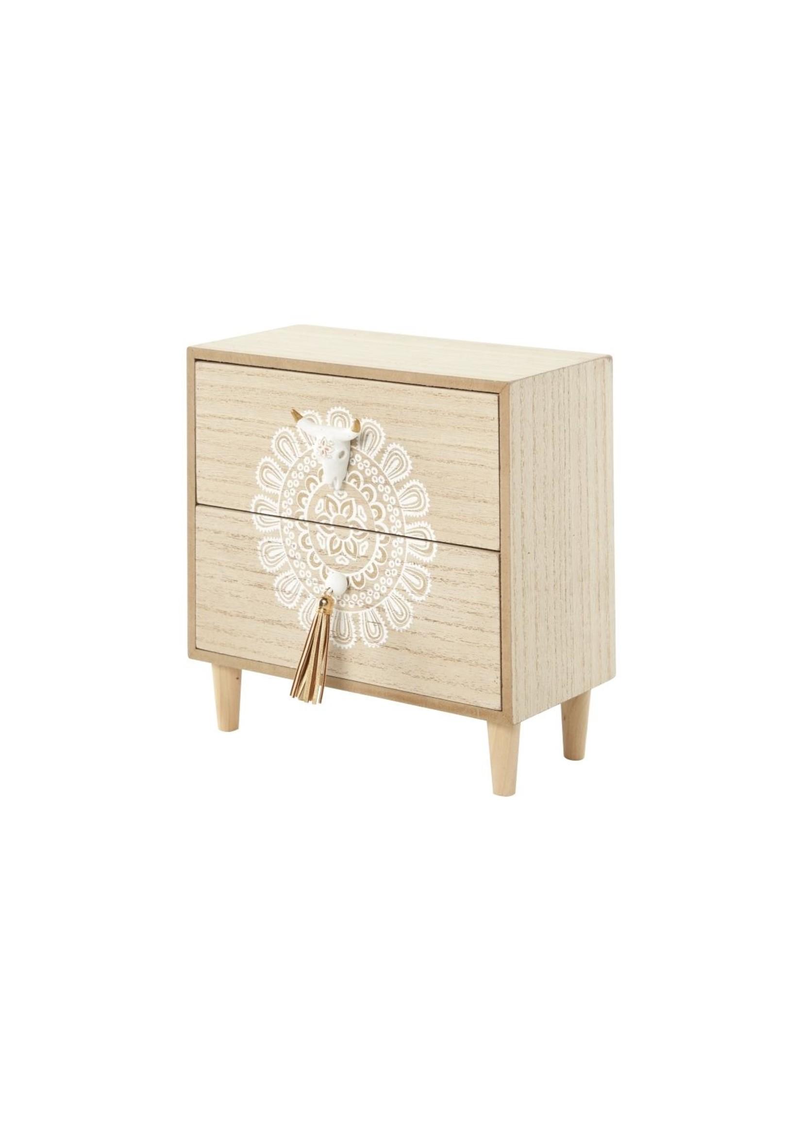 UMA Enterprises Wood Jewelry Box