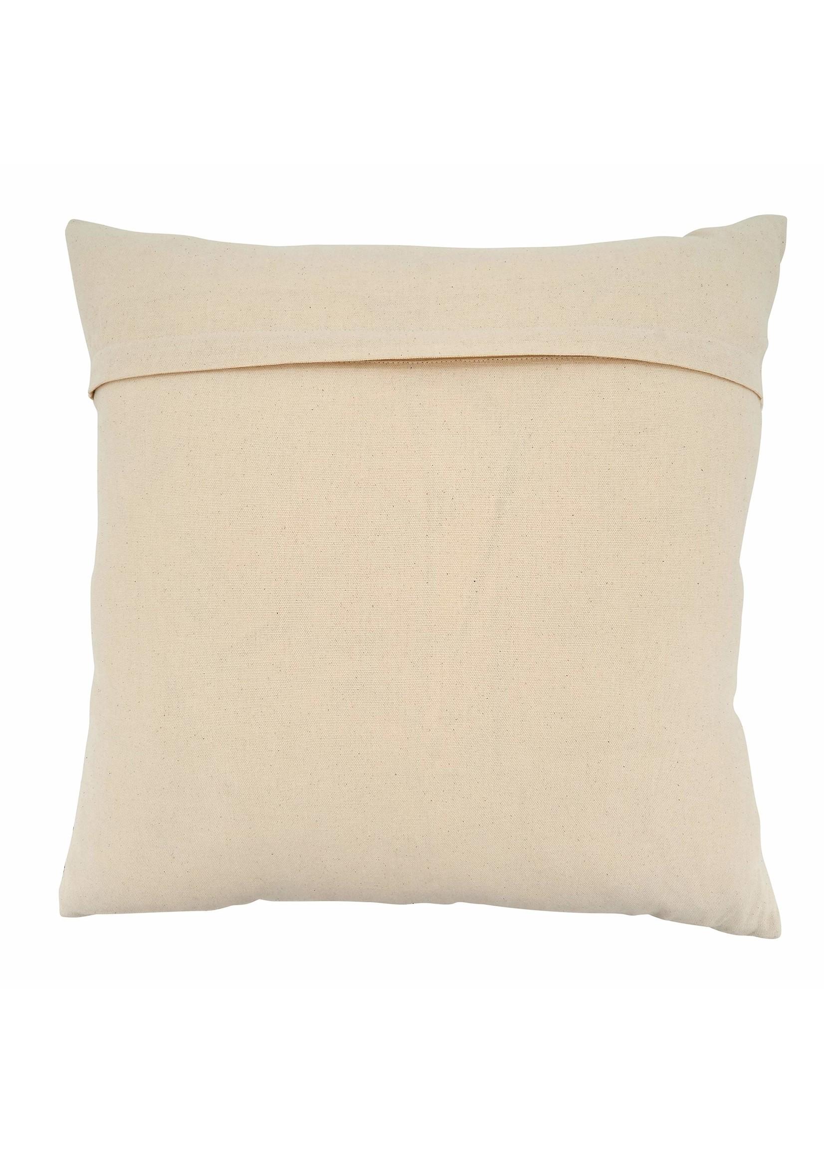 Saro SARO Chevron Pillow Natural