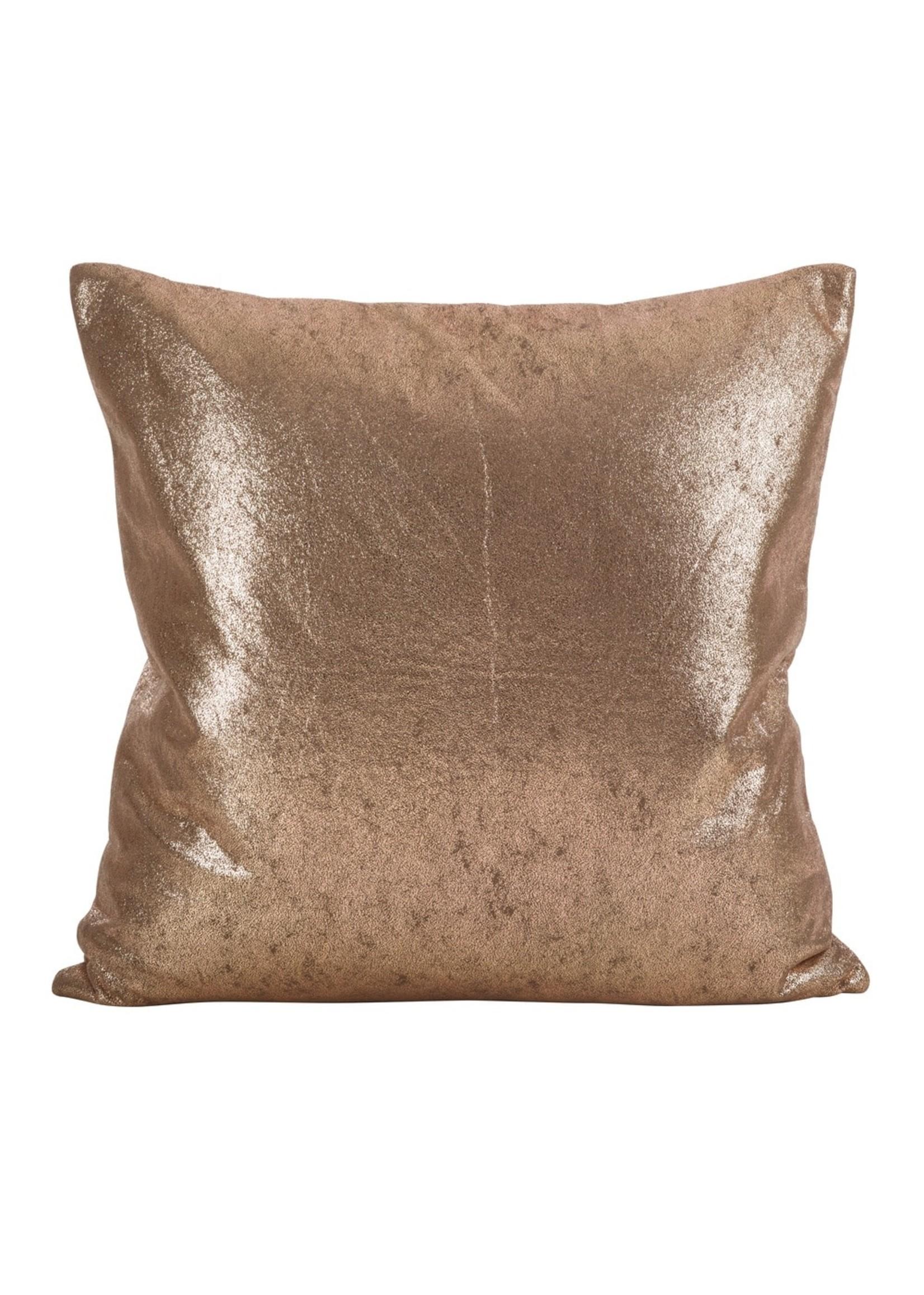 Saro SARO Shimmering Pillow - Rose