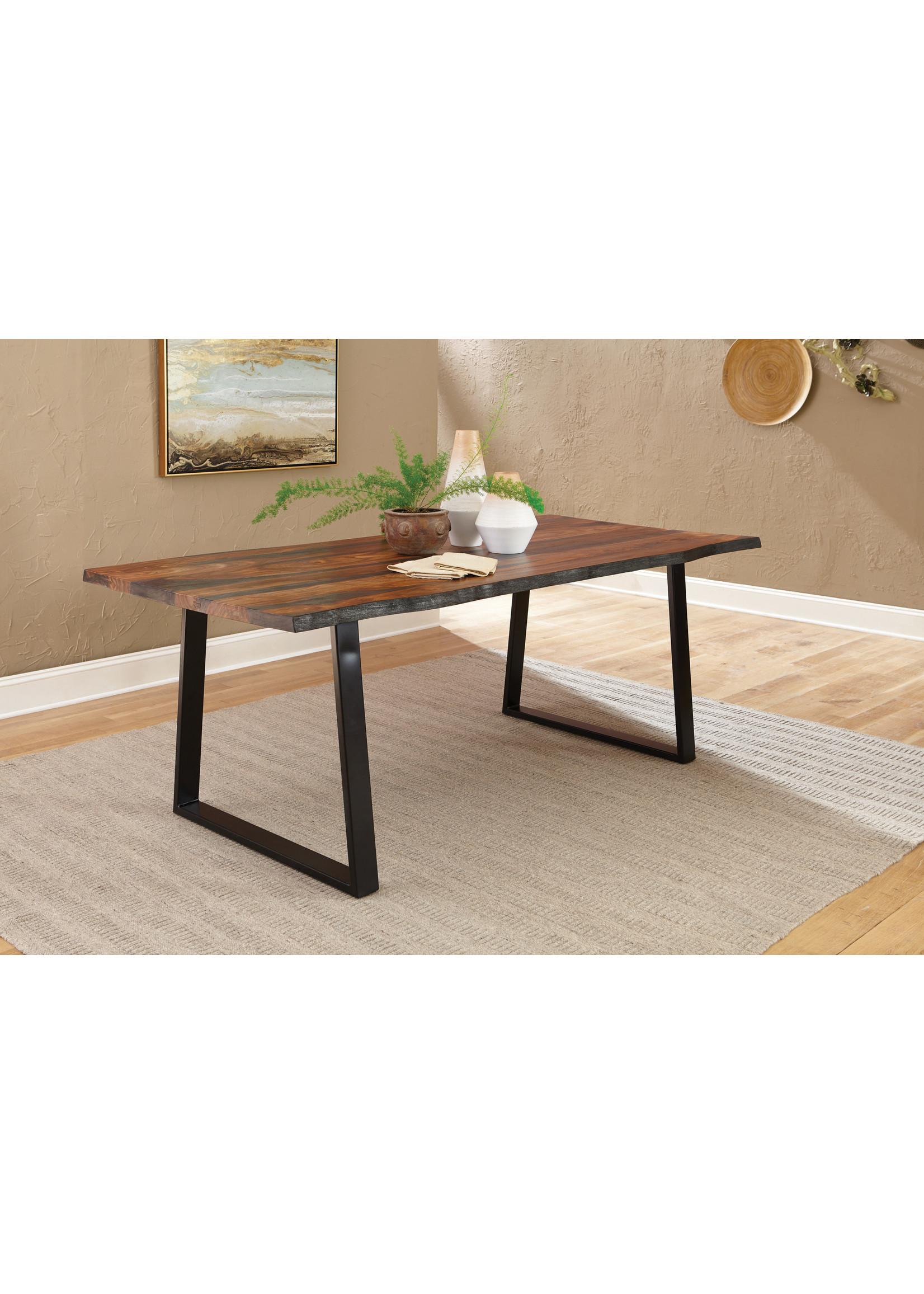 Coaster Furniture Dining Table Grey Sheesham by Coaster