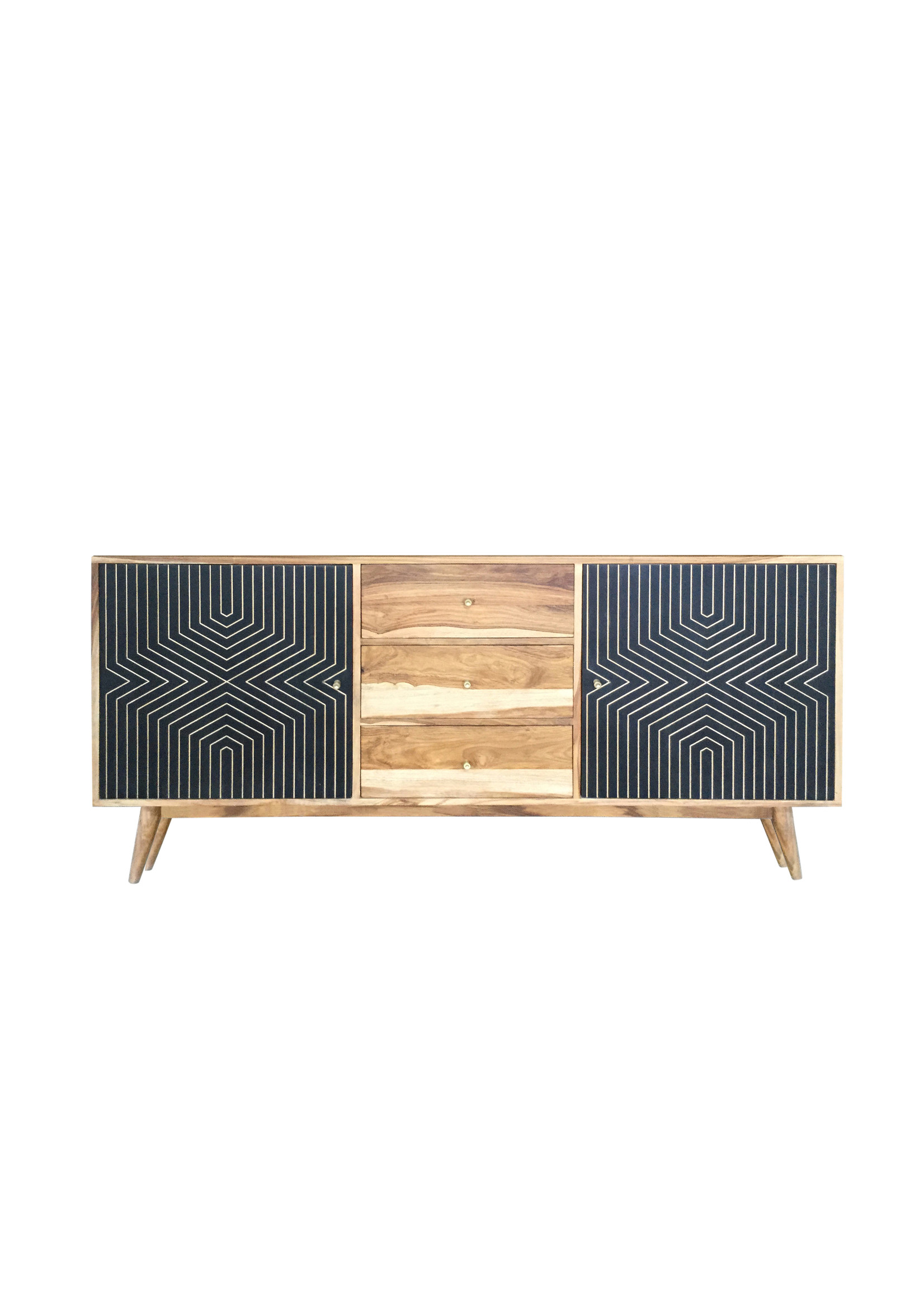 Coaster Furniture Server Natural Sheesham by Coaster