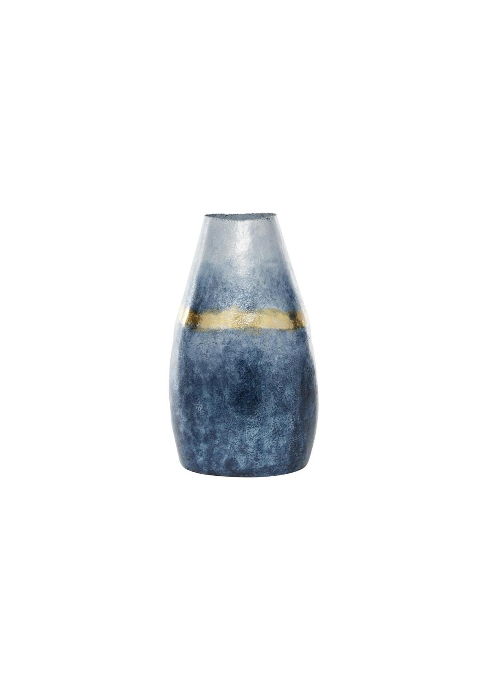 UMA Enterprises Glass Alum Vase Blue