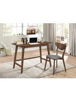 Coaster Furniture 2PC Desk Set, Walnut by COASTER