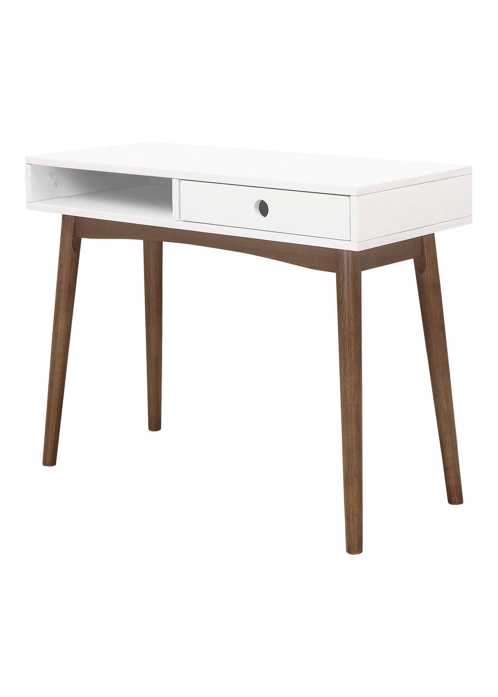 Coaster Furniture Writing Desk White Walnut by COASTER