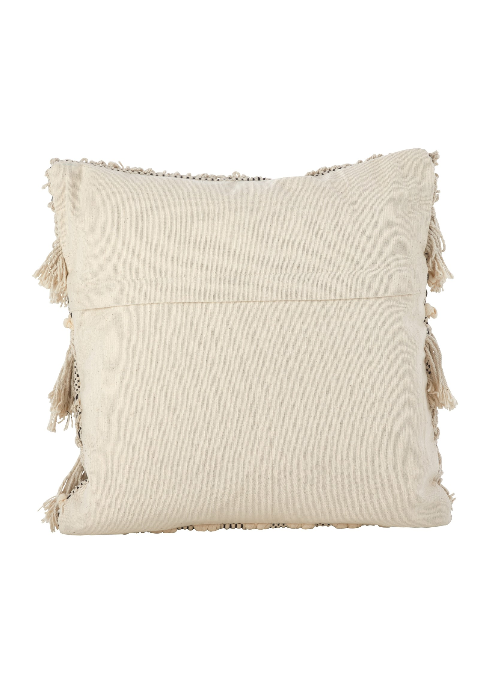 Saro Moroccan Pillow Down Filled - Ivory