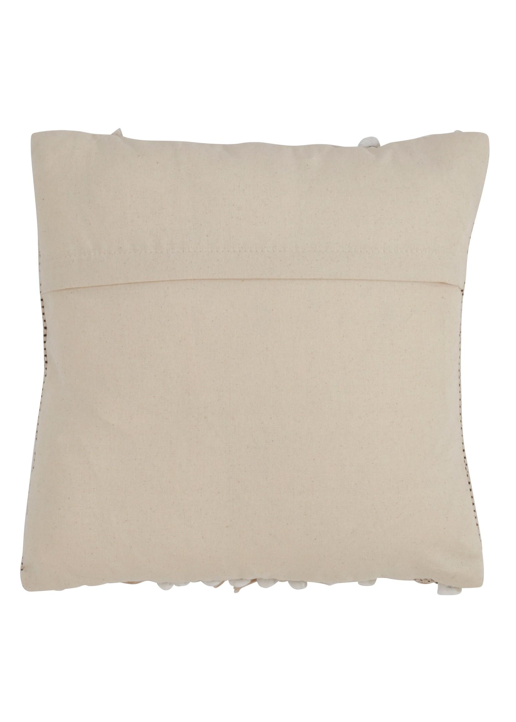 Saro Morocco Pillow Down Filled Natural