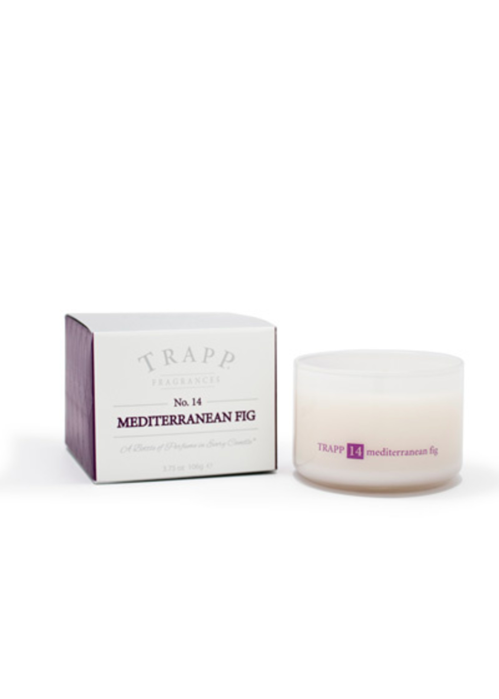 Trapp Candles Ambiance Collection - No. 14 Mediterranean Fig - 3.75 oz. Poured Candle