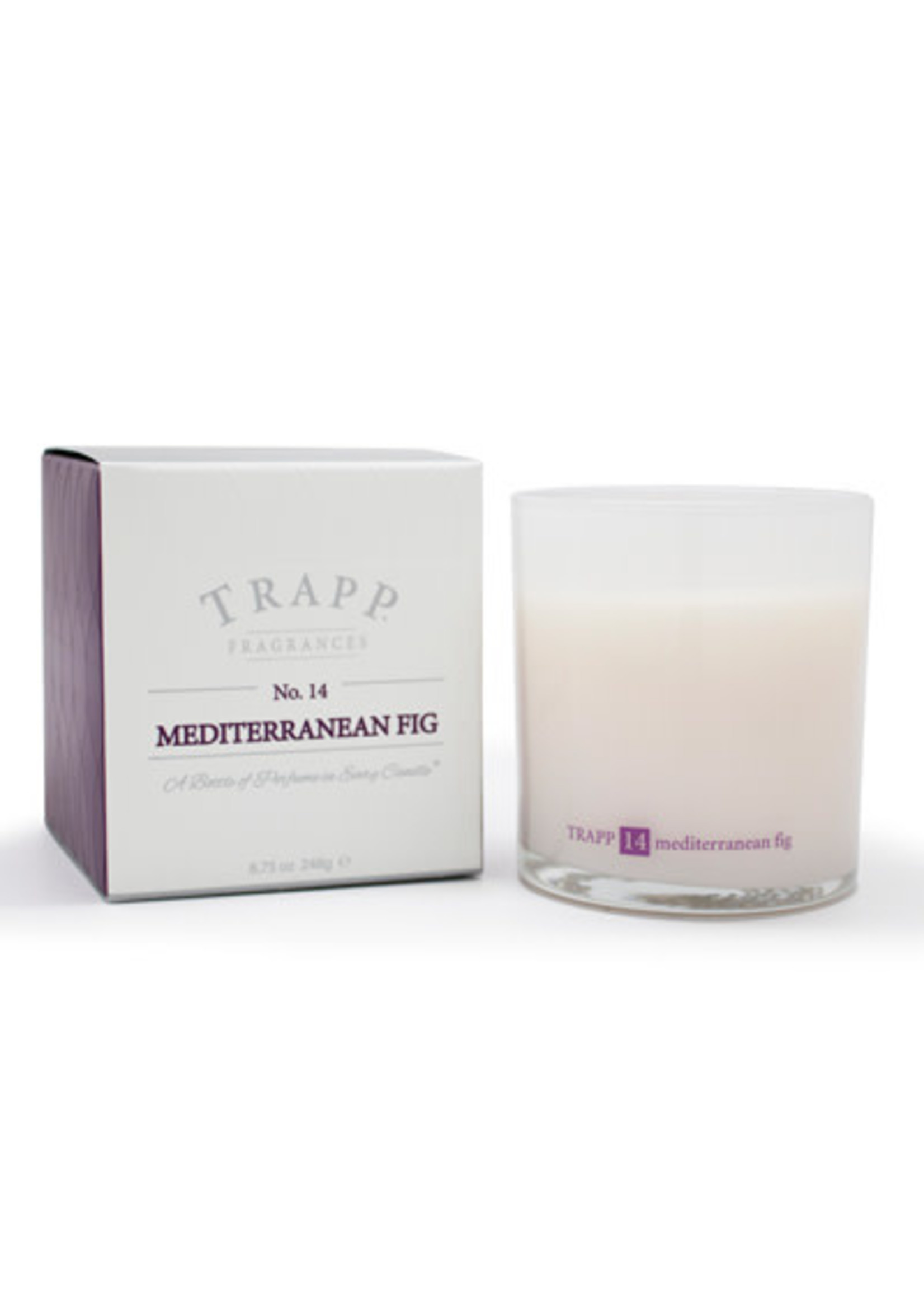 Trapp Candles Ambiance Collection - No. 14 Mediterranean Fig - 8.75 oz. Poured Candle