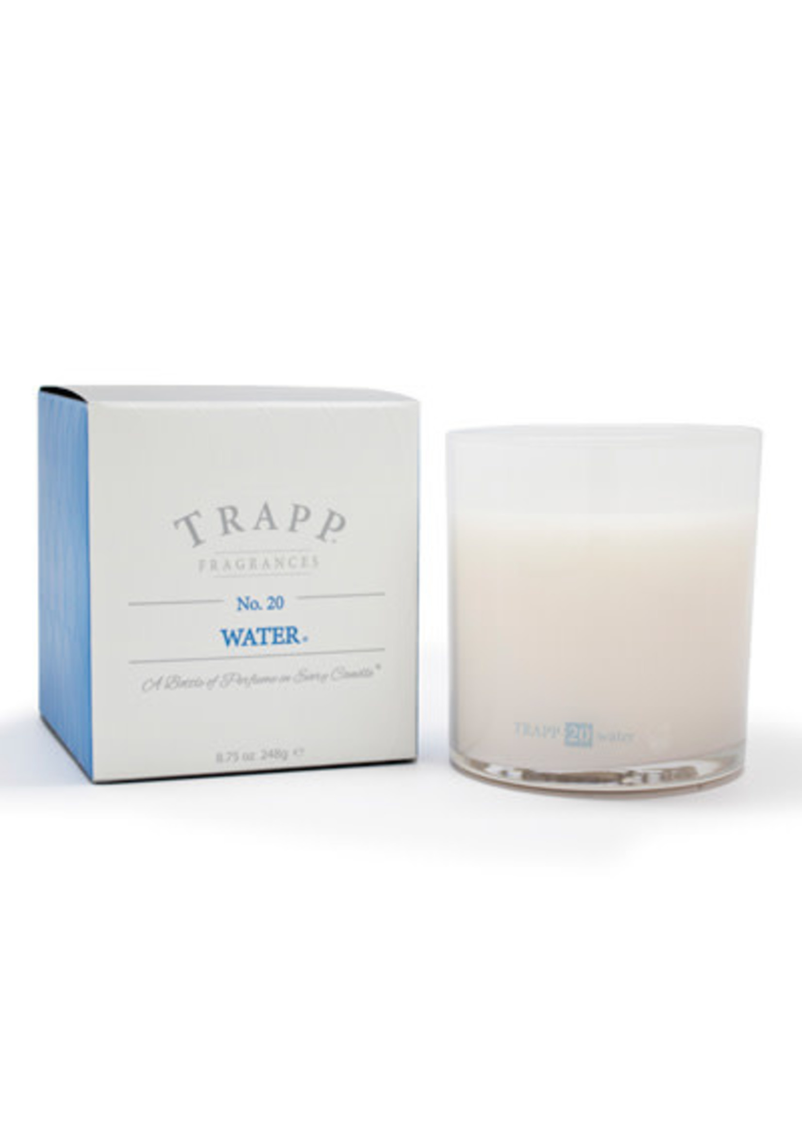 Trapp Candles Ambiance Collection - No. 20 Water - 8.75 oz. Poured Candle