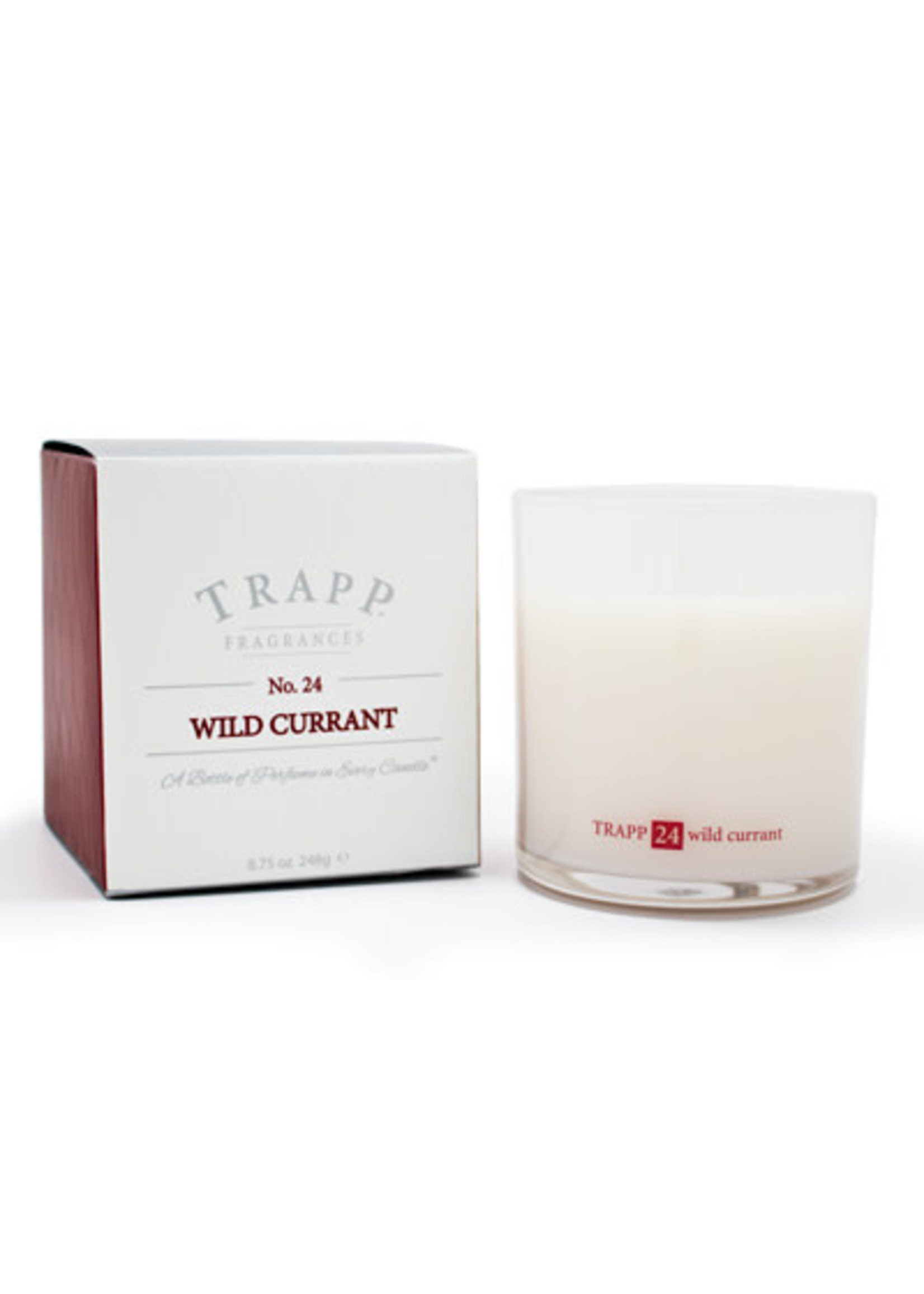 Trapp Candles Ambiance Collection - No. 24 Wild Currant - 8.75 oz. Poured Candle