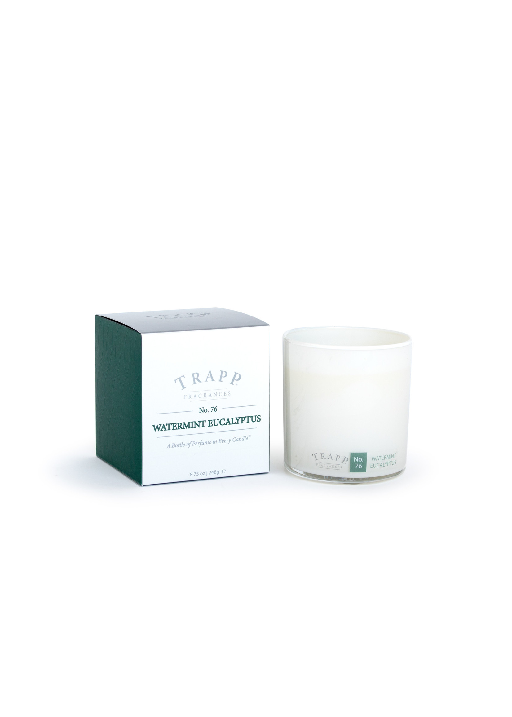 Trapp Candles Ambiance Collection - No. 76 Watermint Eucalyptus - 8.75 oz. Poured Candle