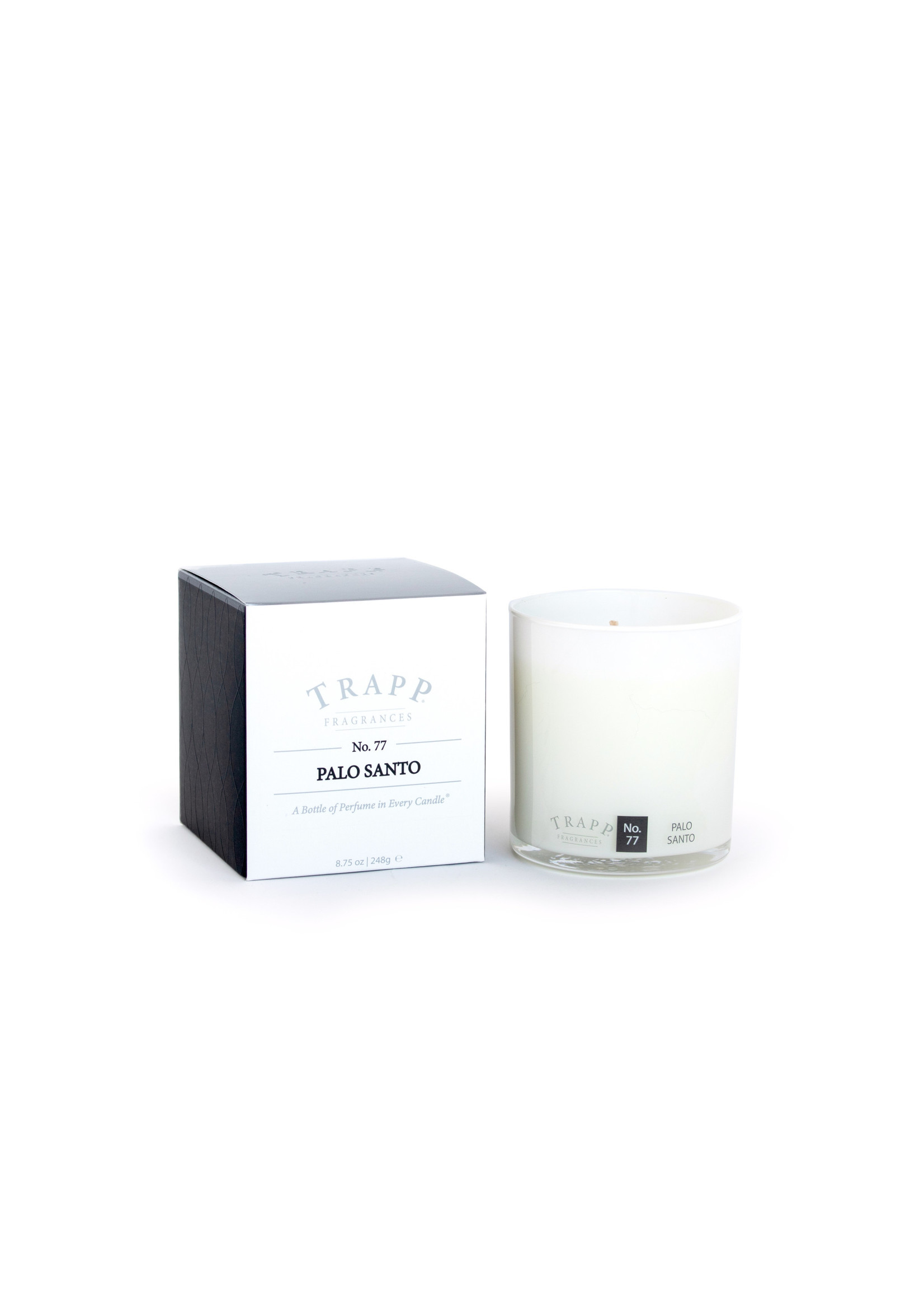 Trapp Candles Ambiance Collection - No. 77 Palo Santo - 8.75 oz. Poured Candle