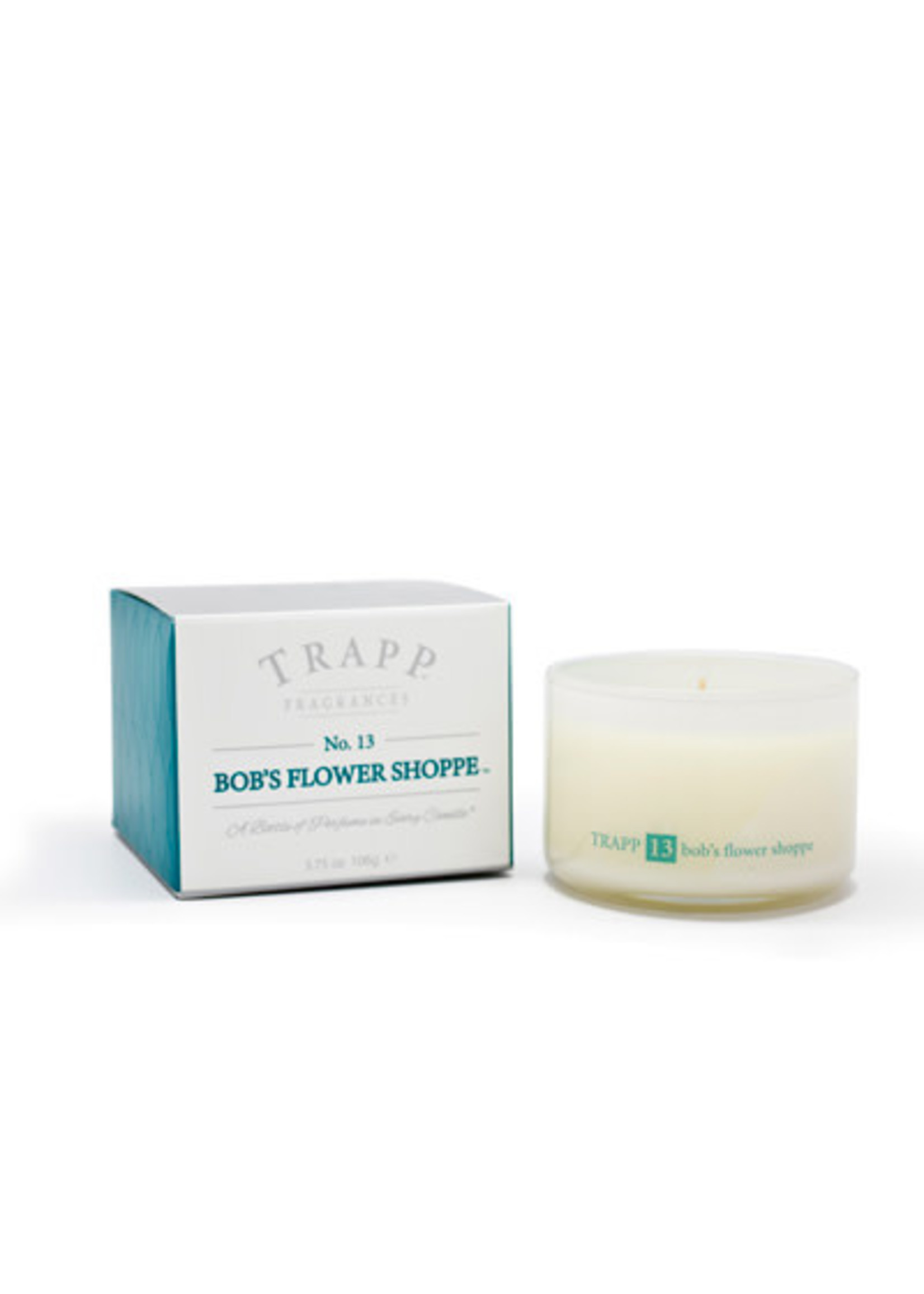 Trapp Candles Ambiance Collection - No. 13 Bob's Flower Shoppe - 3.75 oz. Poured Candle