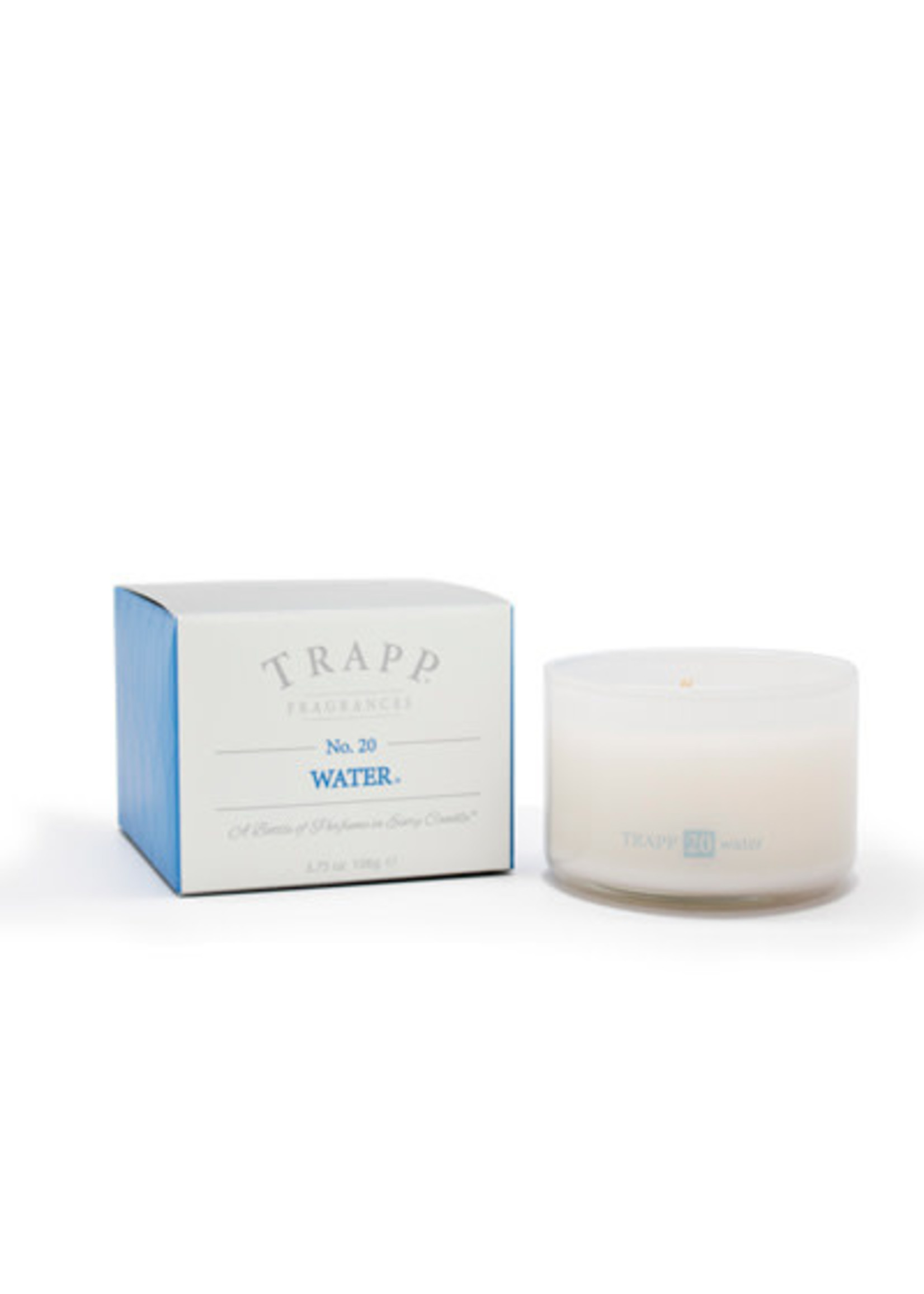 Trapp Candles Ambiance Collection - No. 20 Water - 3.75 oz. Poured Candle