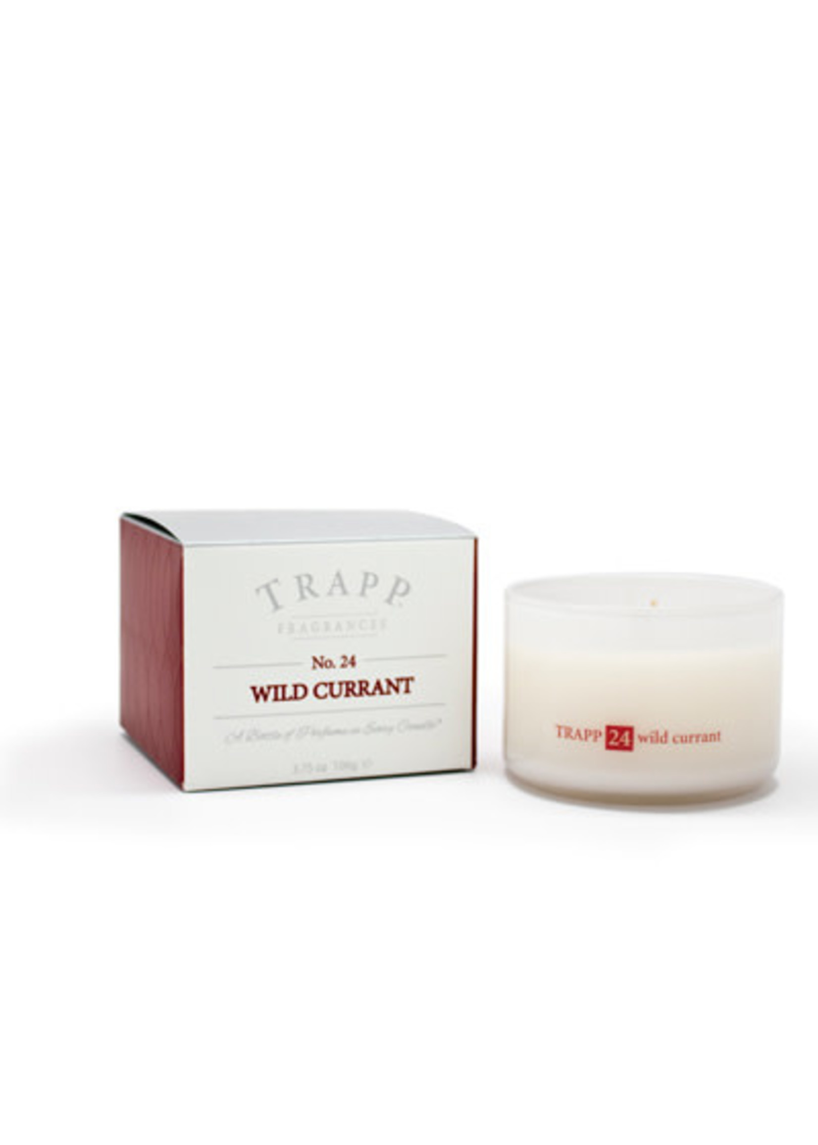 Trapp Candles Ambiance Collection - No. 24 Wild Currant - 3.75 oz. Poured Candle