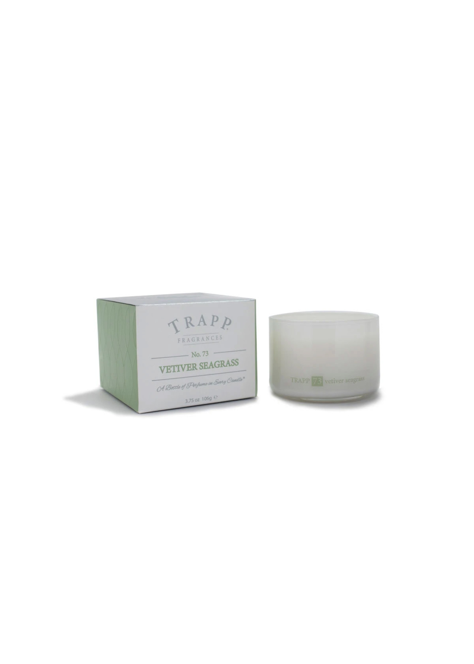 Trapp Candles Ambiance Collection - No. 73 Vetiver Seagrass - 3.75 oz. Poured Candle