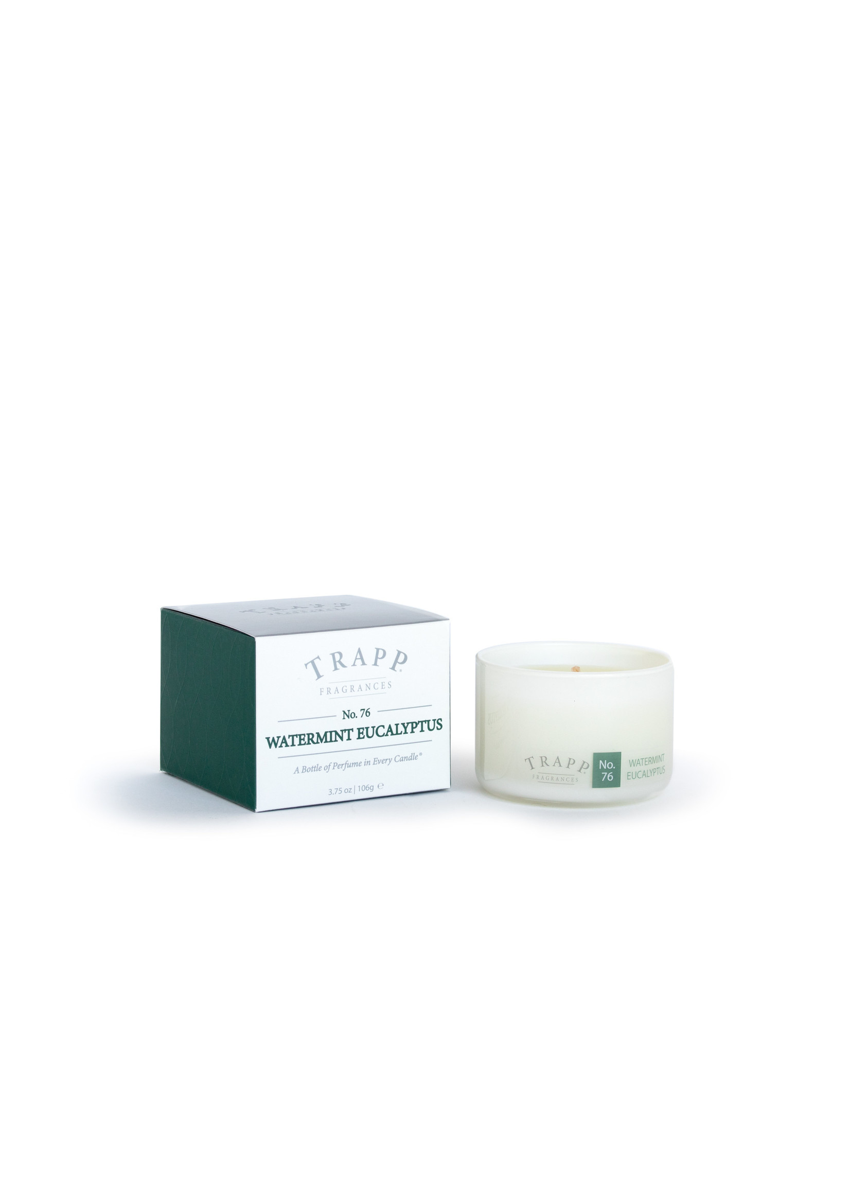 Trapp Candles Ambiance Collection - No. 76 Watermint Eucalyptus - 3.75 oz. Poured Candle
