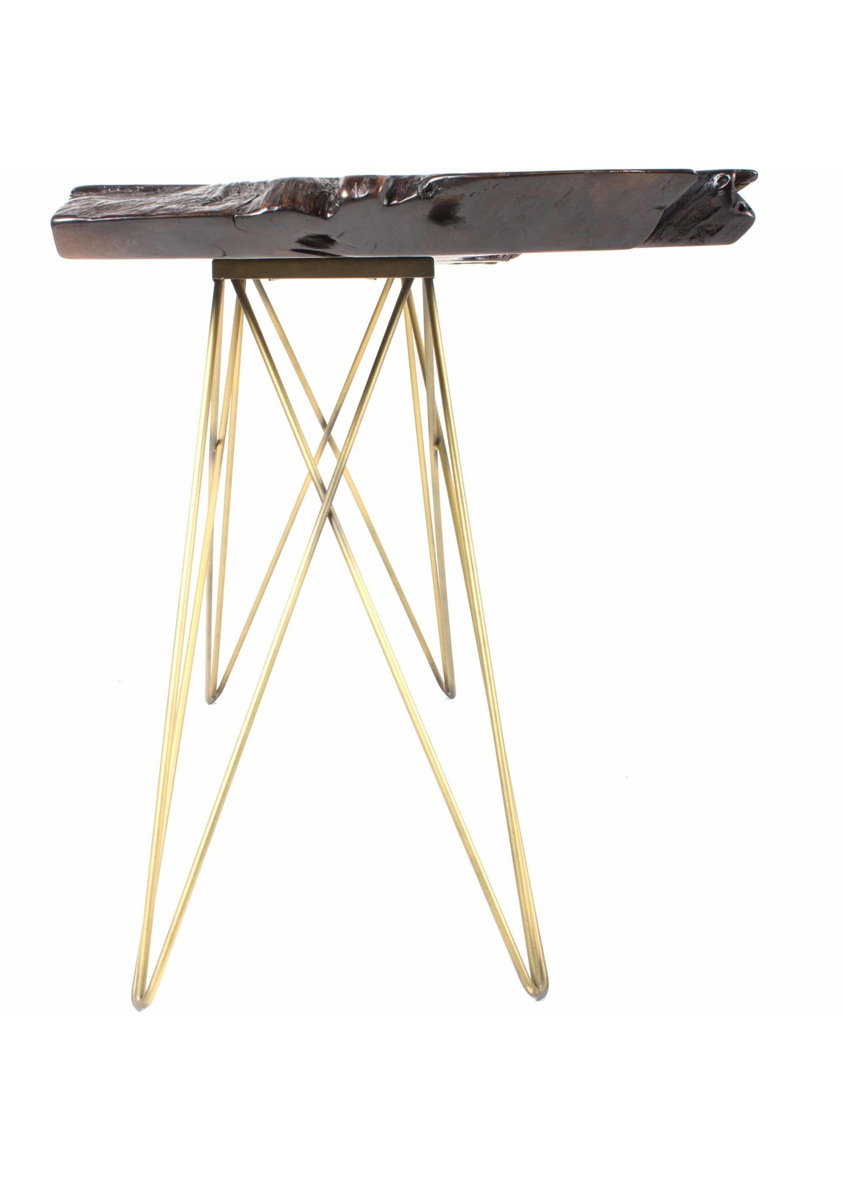 Moes Home Collection Tectona Console Table Dark Brown by MOES
