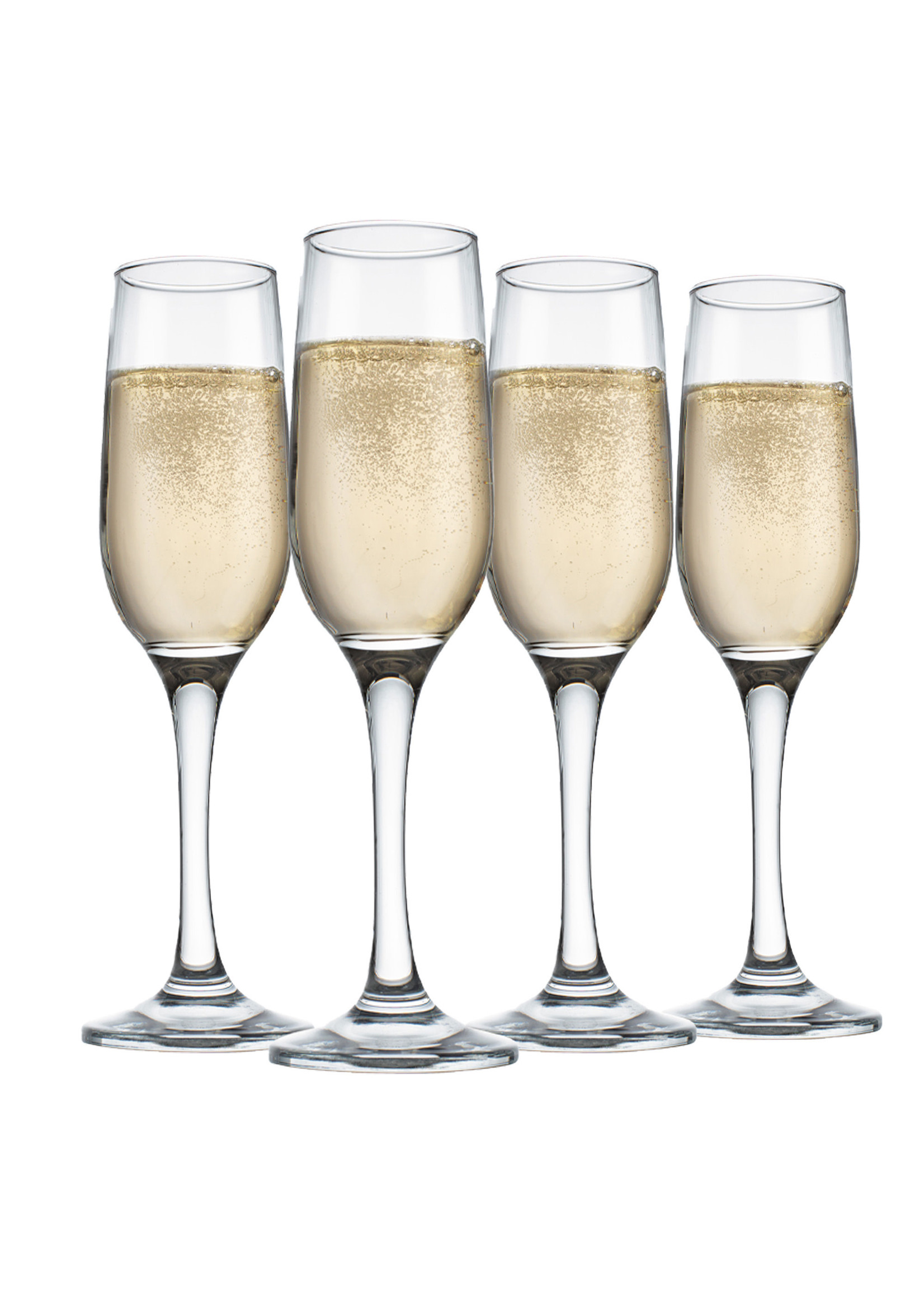 Home Essentials 7.25 oz Champagne Flutes - Set of 4