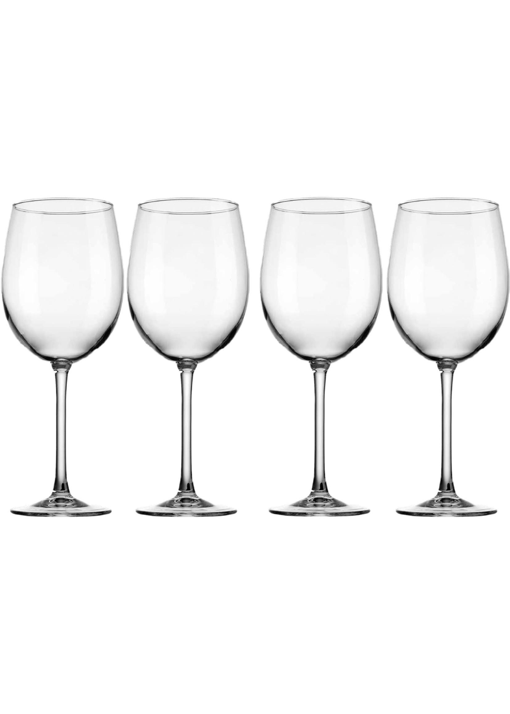Home Essentials John M 190 oz White Wine Glass - Set of 4