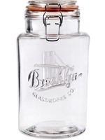 Home Essentials Brooklyn Glassworks Co. - Bail & Trigger 64 oz Canister