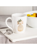 Home Essentials Gold Pineapple Mug