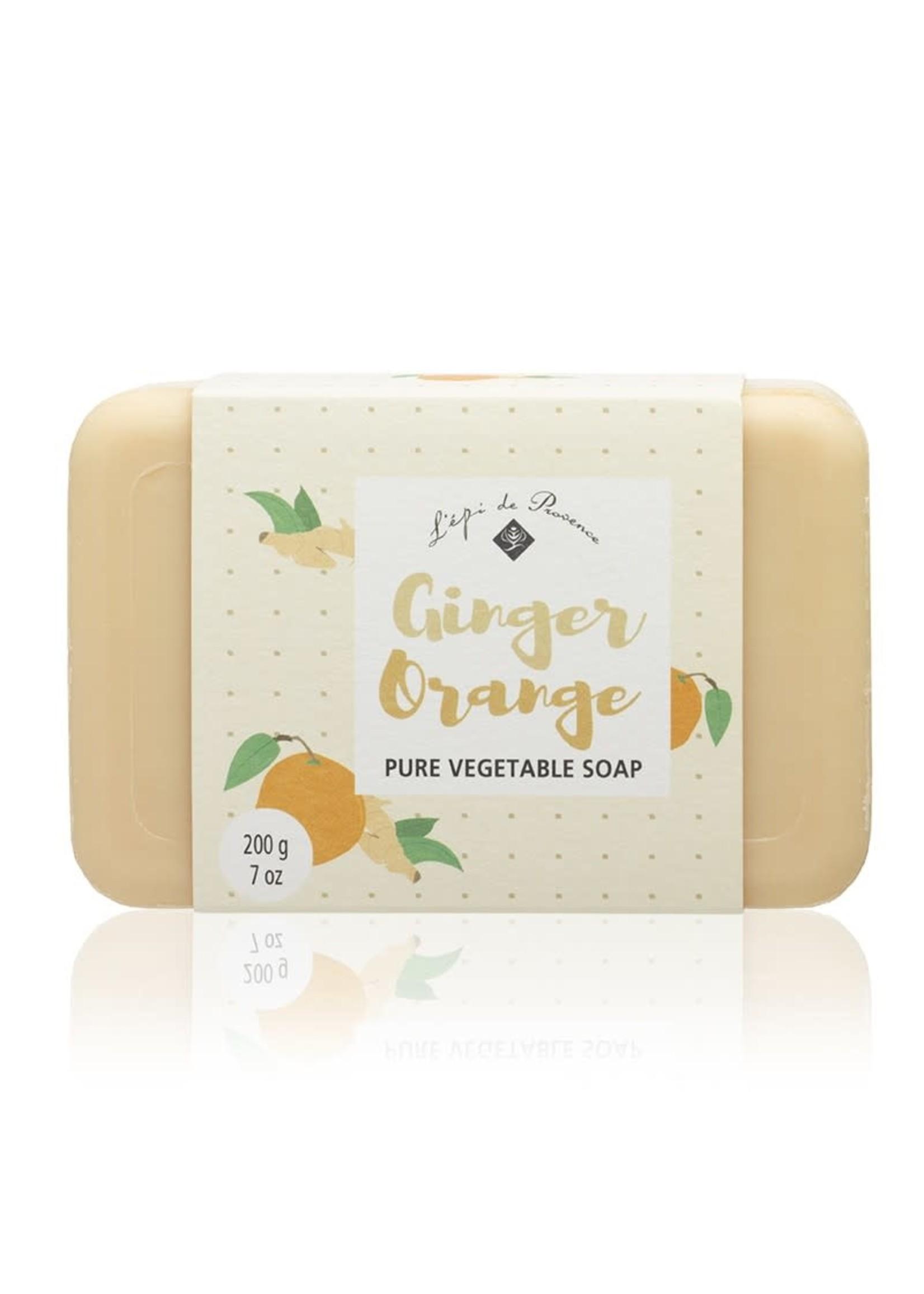 Echo France Soap Ginger Orange Soap 200g Soap
